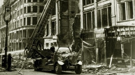 London WWII Blitz map is live | Todays News, Tomorrows History | Scoop.it