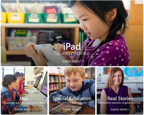 Apple Revamps and Expands its Education Page Ahead of iOS 7 Launch | e-learning technologies | Scoop.it