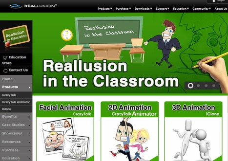 Reallusion in Education | KgTechnology | Scoop.it