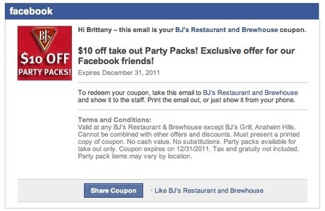 Inside Facebook · Facebook Testing New Coupon Posts and Ads | Enterprise Social Media | Scoop.it