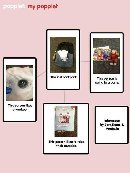 Backpack Inferences using Popplet Lite App on the iPad | Bel Air iPad Integration | Scoop.it