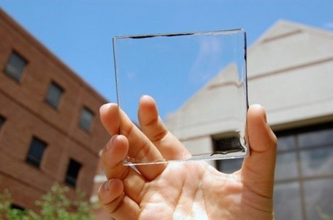 SOLAR ENERGY THAT DOESN'T BLOCK THE VIEW | Christian Querou | Scoop.it