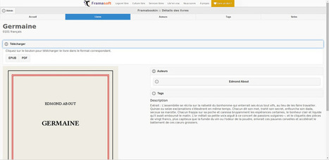 Framabookin, une nouvelle bibliothèque numérique gratuite | mediateurnumerique | Logiciels libres,Open Data,open-source,creative common,données publiques,domaine public,biens communs,mégadonnées | Scoop.it