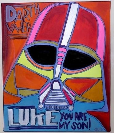 Tarek   Darth Vader #2 - Artsper   Bande dessinée et illustrations   Scoop.it
