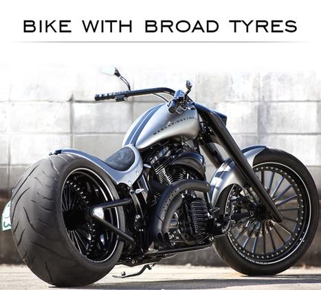 Modified Bajaj V Bike