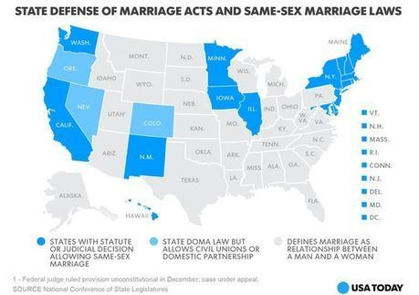 Same-sex marriage History, Status Around the World, & Facts.