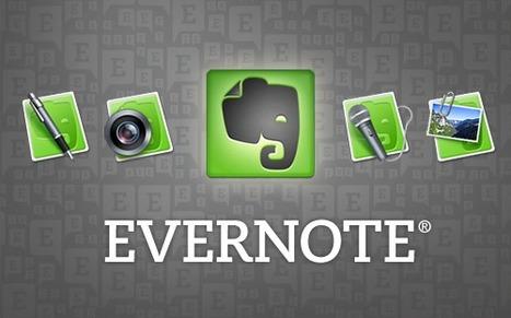 El día que como docente empecé a utilizar Evernote | SEMINARIO TIC | Scoop.it