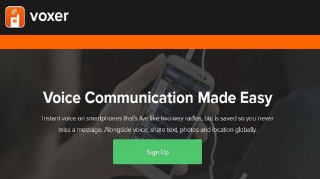 Is Voxer your New Communication App? - EdTechReview™ (ETR) | Edtech PK-12 | Scoop.it