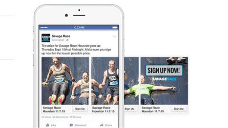 7 exemples d'utilisation réussie des publications carrousel de Facebook ! | Facebook pour les entreprises | Scoop.it
