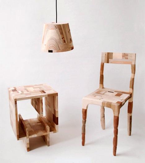 Une déco tout en bois! | Décoration - Design | corinne chatelain | Scoop.it