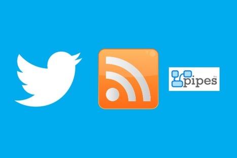Twitter : générer des flux RSS avec la nouvelle API | Orangeade | Scoop.it