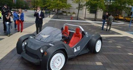 La première voiture entièrement imprimée 3D ! | Jisseo :: Imagineering & Making | Scoop.it