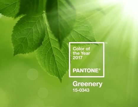 Vert Greenery, couleur Pantone 2017 | Les Gentils PariZiens : style & art de vivre | Scoop.it