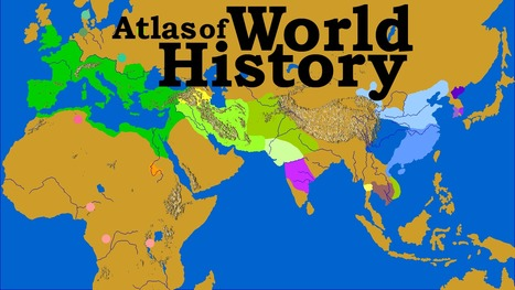 Atlas of World History | omnia mea mecum fero | Scoop.it