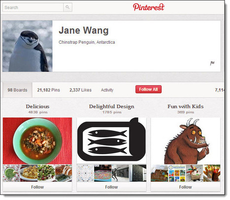 The World's Top 5 Pinners on Pinterest | Jeffbullas's Blog | Allround Social Media Marketing | Scoop.it