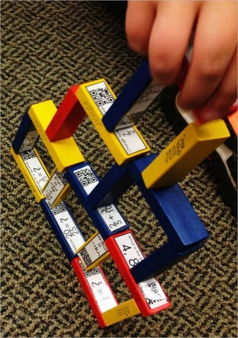 QR Code Jenga Teaches Fractions | QR codes for learning | Scoop.it