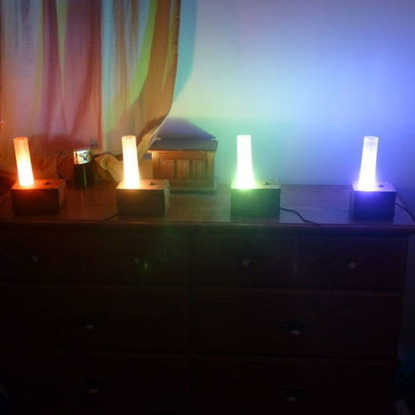 Color Changing Mood Light | Arduino progz | Scoop.it