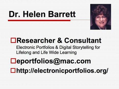 Dr. Helen Barrett's Electronic Portfolios | Language Portfolios and ePortfolios | Scoop.it
