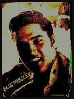 ELVIS PRESLEY ART | 1950's | Scoop.it