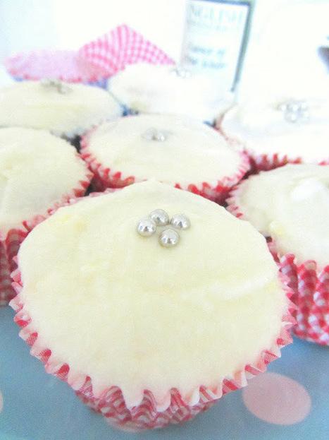 My gourmet bites.: Rosewater cupcakes. | Cakes & Bakes | Scoop.it