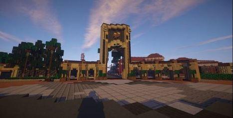 Universal Studios Orlando Map | Minecraft mods