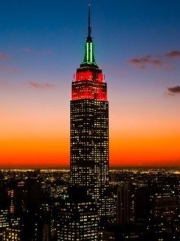 Empire State Building, New York City.   Beautiful places.   Scoop.it