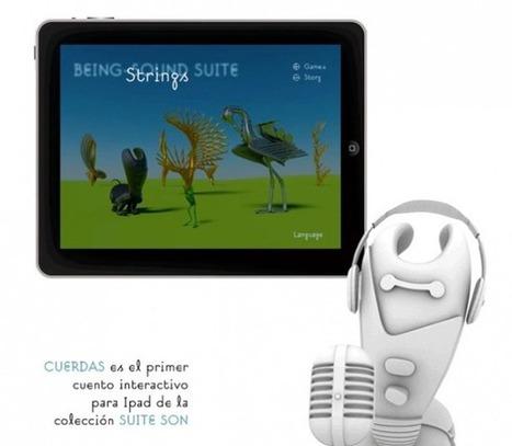 Cuerdas – Cuento interactivo para iPad, musical, en español y gratuito | compaTIC | Scoop.it