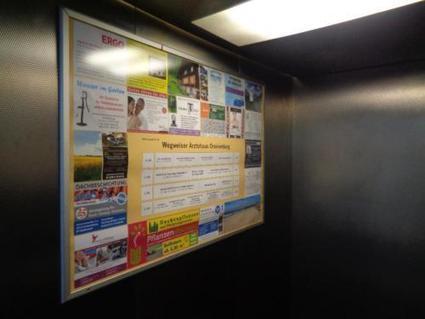 Fahrstuhl Werbeflächen in Ärzte,- Geschäfts- und Wohnhäuser Miete | Elevator Stories | Scoop.it