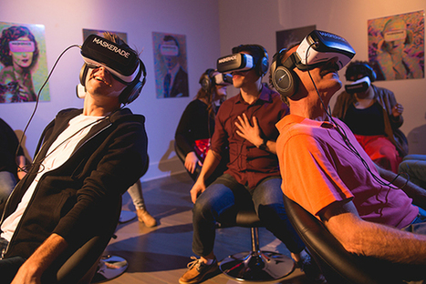 Lights, camera, action at pop-up virtual reality theater - MIT Sloan School of Management | Virtual Worlds News | Scoop.it