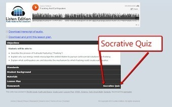 Free Technology for Teachers: Listen Edition and Socrative Combine to Offer Audio-based Lessons | ICT Resources, Apps and Tools for your Classroom | Scoop.it