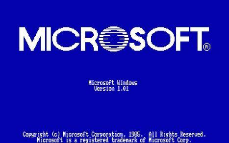 20 novembre 1985 - 20 novembre 2013: Windows 1.0 | S&Q energia | Scoop.it
