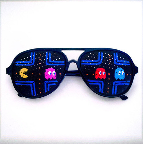 Video Game Sunglasses Keep the Pixels out of Your Eyes | All Geeks | Scoop.it