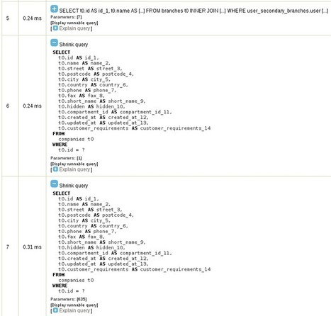 Extra query using callback and to_string_callba