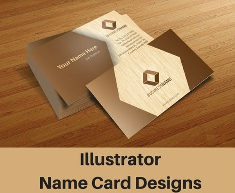 Name card printing singapore specialist scoop how illustrator designs can help your name card look trendy name card printing singapore specialist reheart Images