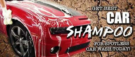 Get Best Car Shampoo For Spotless Car Wash Toda