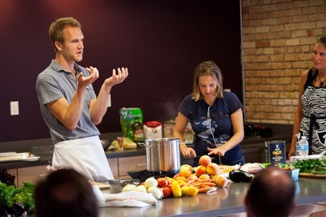 Learning how to cook healthy, local with Grand Rapids Cooking School   The Rapidian   Eat Local West Michigan   Scoop.it