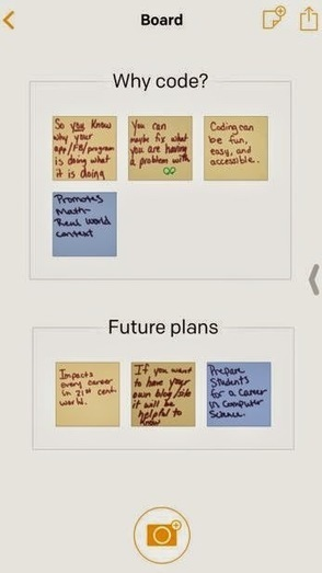 iDevice in the Mountains: Post It App - Great for the Teacher iPad! | Drifting with iPads and iPods | Scoop.it