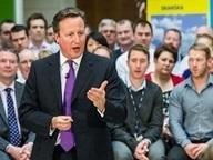 Prime minister David Cameron demands support for National Infrastructure Plan
