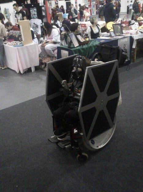 The Geekiest Wheelchair of All Time   Geek out   Scoop.it