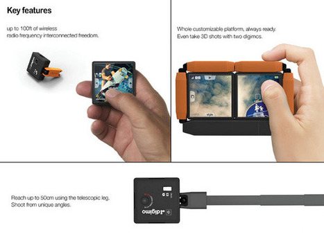 Digimo Camera Concept by Sangik Lee » Yanko Design | Technology and Gadgets | Scoop.it