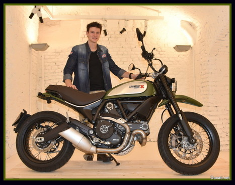 Ducati Scrambler Most Beautiful Bike Of EICMA 2014 | Ductalk Ducati News | Scoop.it