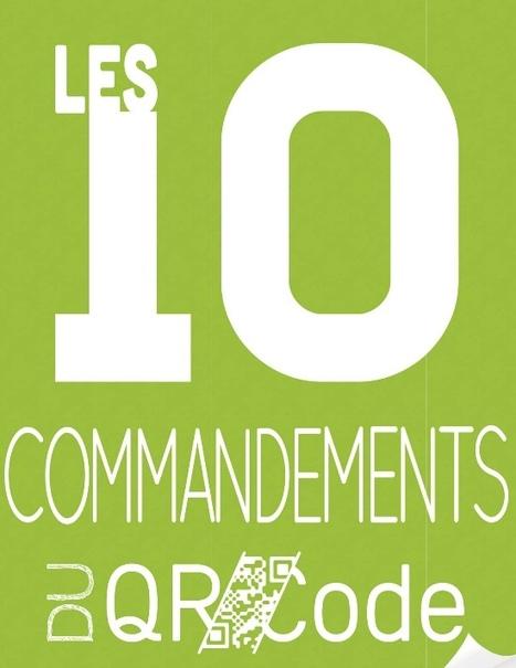 Les 10 commandements du QR Code | TICE, Web 2.0, logiciels libres | Scoop.it