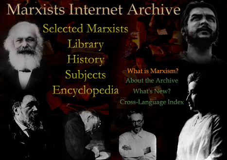 Marxists Internet Archive | Conservative Liberty and Freedom is nothing but an empty box wrapped in the flag that helps no one. The land of the free for only those fit to survive, the rest can and should perish for the benefit of the strong | Scoop.it