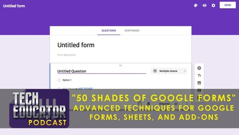 Learning about Google Forms, formRanger, formLimiter, autoCrat and copyDown | 21st Century Technology Integration | Scoop.it