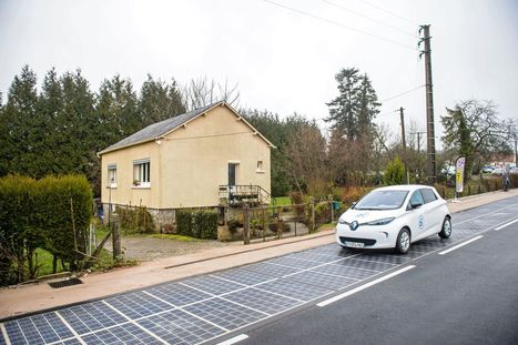 The world's first solar panel-paved road has opened in France | Business Transformation | Scoop.it