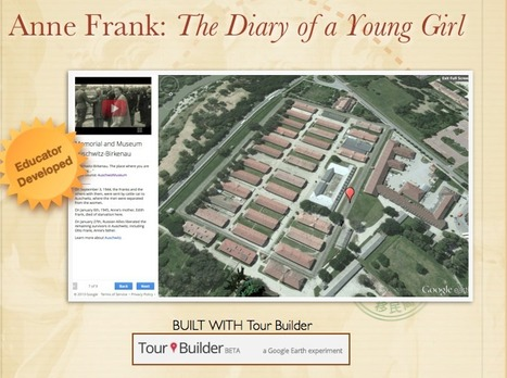 Anne Frank: The Diary of a Young Girl | What They're Saying About Google Lit Trips | Scoop.it