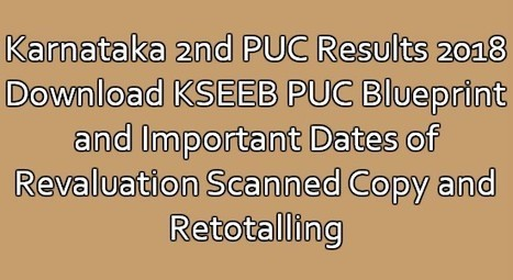 Karnataka 2nd puc results 2018 download kseeb p karnataka 2nd puc results 2018 download kseeb puc blueprint malvernweather Image collections