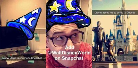 Ejemplo de como Walt Disney utiliza Snapchat en su estrategia de marketing | Aplicaciones y Herramientas . Software de Diseño | Scoop.it