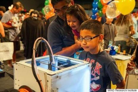 Back to the Future: 3D Printing and the Future of Math Education - Huffington Post | Ed Leadership and Technology | Scoop.it