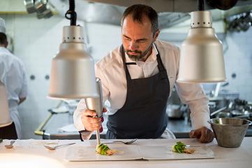 Christophe Aribert : Ma devise en cuisine est celle des montagnards… « sortir par le haut » !   The fisheye of gourmet food & wine!   Scoop.it
